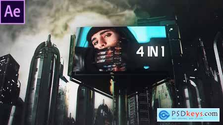 Cyberpunk City 4 in 1 29712882