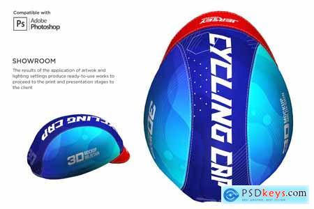 3D Cycling Cap Mockup 5558129