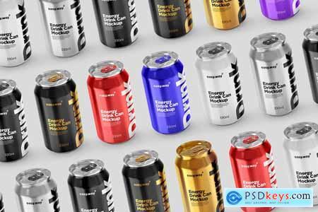 330ml Aluminum Can PSD Mockup 5754579
