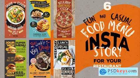 Fun Casual Food Menu Instagram Stories 29986570