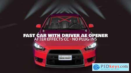 Fast Car with Driver Opener 23757091
