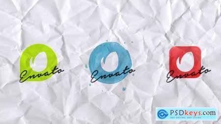 Elegant Watercolor Logo Reveal 12311336