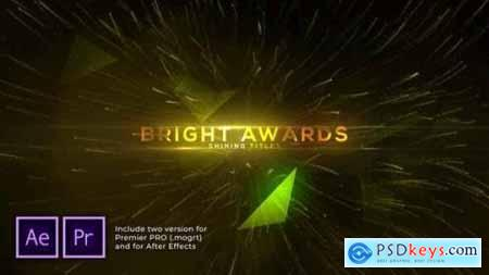 Bright and Shine Awards Titles 29949157