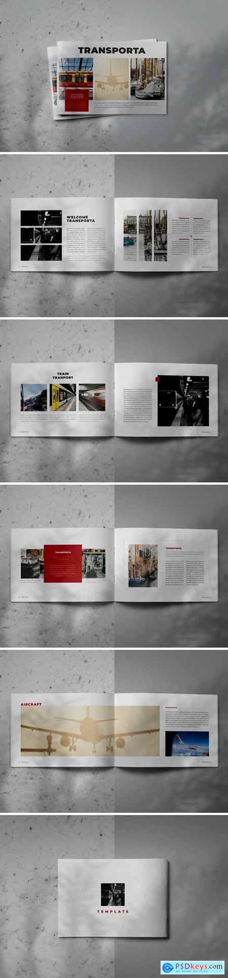 TRANSPORTA - Indesign Brochure Lookbook Template