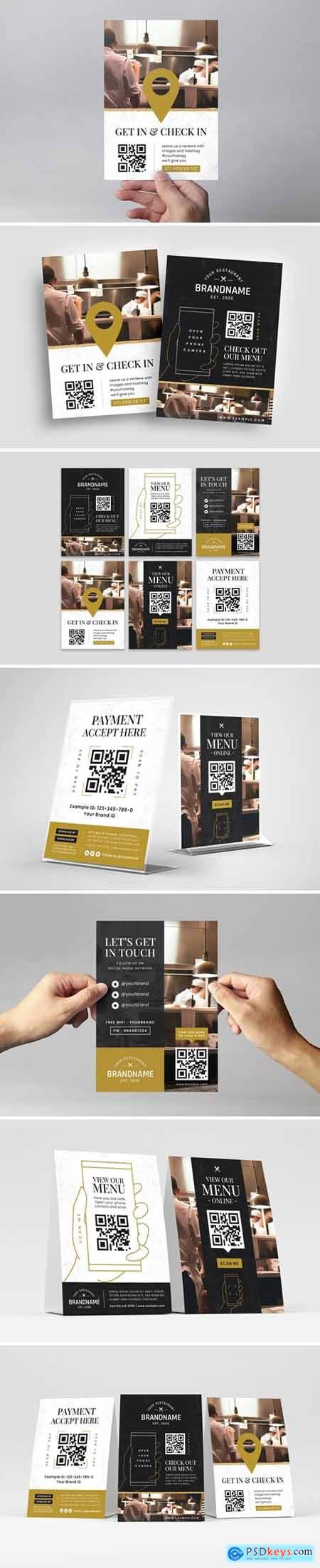QR Code - Check In Flyer