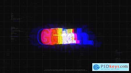 Glitch Cyberpunk Logo 24833904