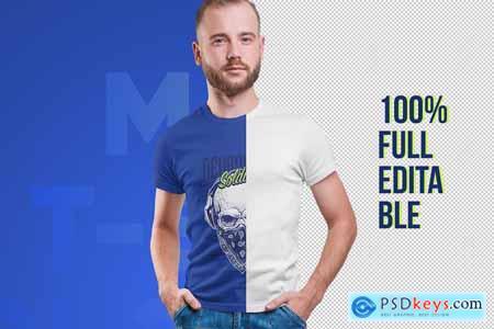 Male T-Shirt PSD Mockups Vol2 5336856