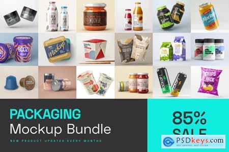 Packaging Mockup Bundle 5724841