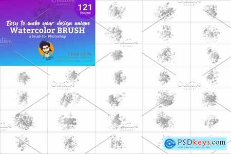 Watercolor Brush Bundle 5750598