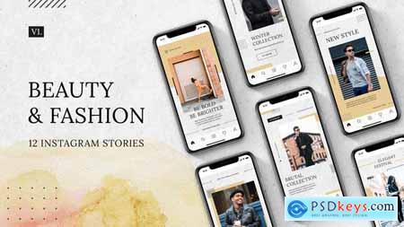 Beauty & Fashion Instagram Stories v.1 30015013