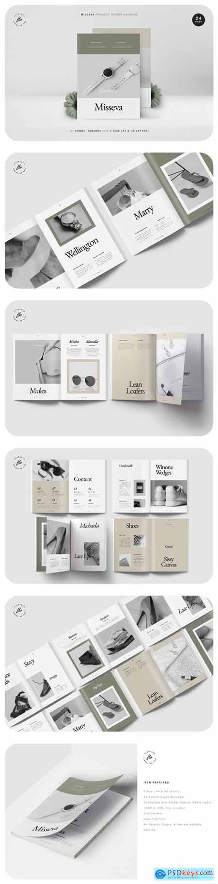 Misseva Product Design Catalog