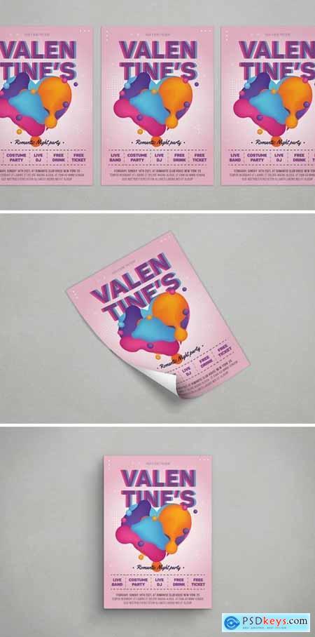 Valentine Flyer681