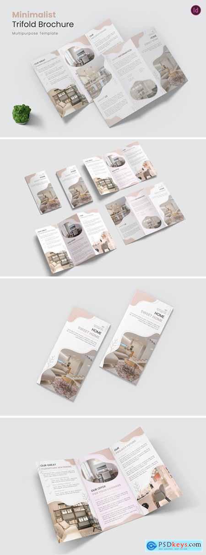 Minimalist Furniture Trifold Brochure