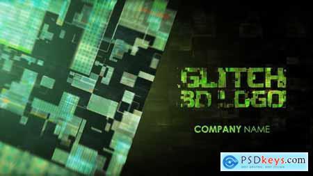 Glitch 3D Logo 23147031