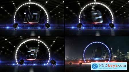 Circle Light Countdown 23669670