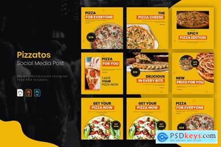 Pizzatos - Instagram Post