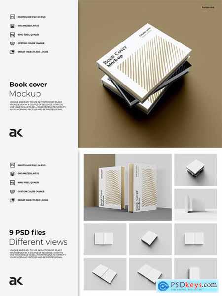 Book Mockup A4EDU6P
