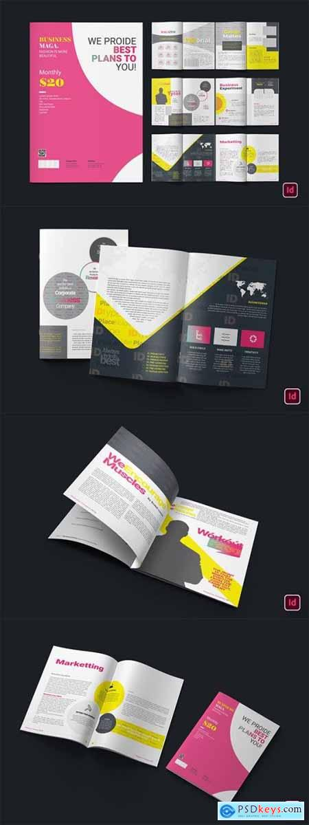 Business Magazine CD9VHQH