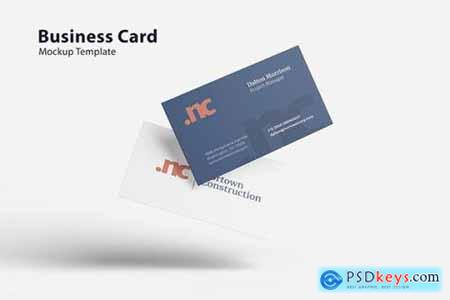 Flyng Business Card - Mockup Template