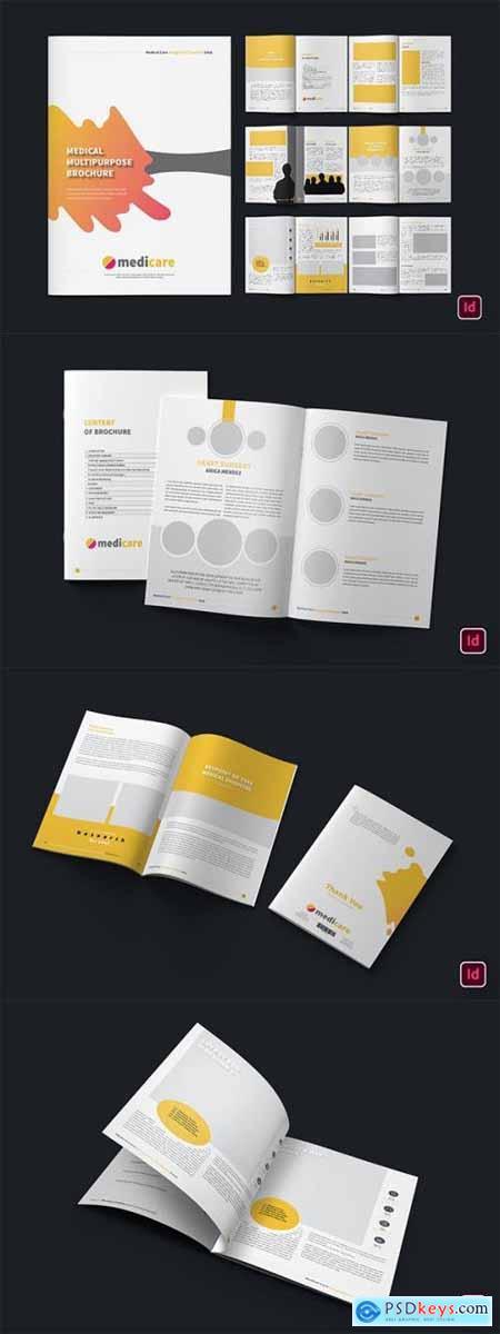 Medical Clinic Creative Brochure Magazine