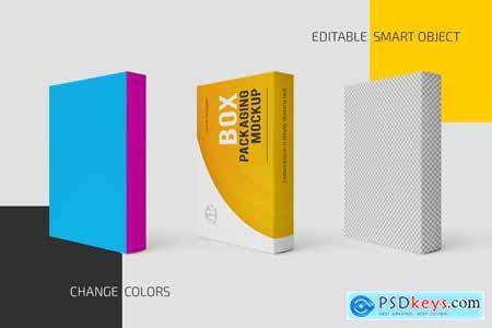Box Packaging Mockup Set 5761624