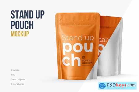 Stand Up Pouch Front and Half Side 5161150