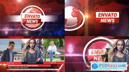 News Broadcast Package 18650539