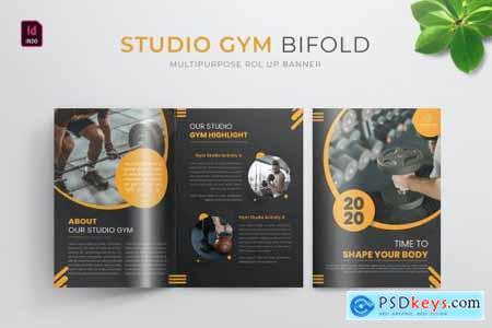 Studio Gym - Bifold Brochure