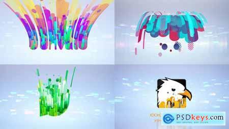 Clean Flying 3D Logo Opener 29353851