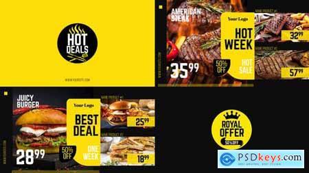 Royal Offer - Food Menu Promo 30083026