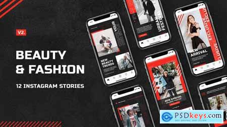 Beauty & Fashion Instagram Stories v.2 30093022