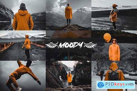 Moody Actions & Presets - Aesthetic Serie