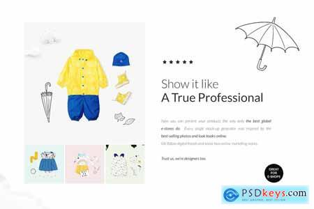 Baby Lookbook Creator Bundle Mockups 4065392