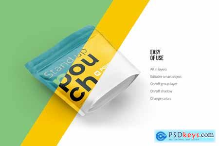Stand-up Pouch Mockup (square) 5075208
