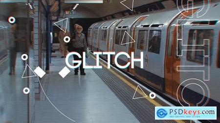 Fast Glitch Logo Opener 15376306