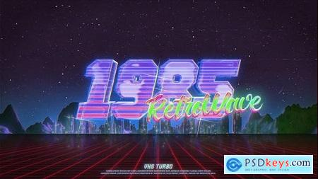 Retro Wave Logo 29832544