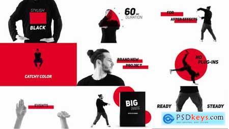 Dance and Rhythm - Typography Promo 23696118