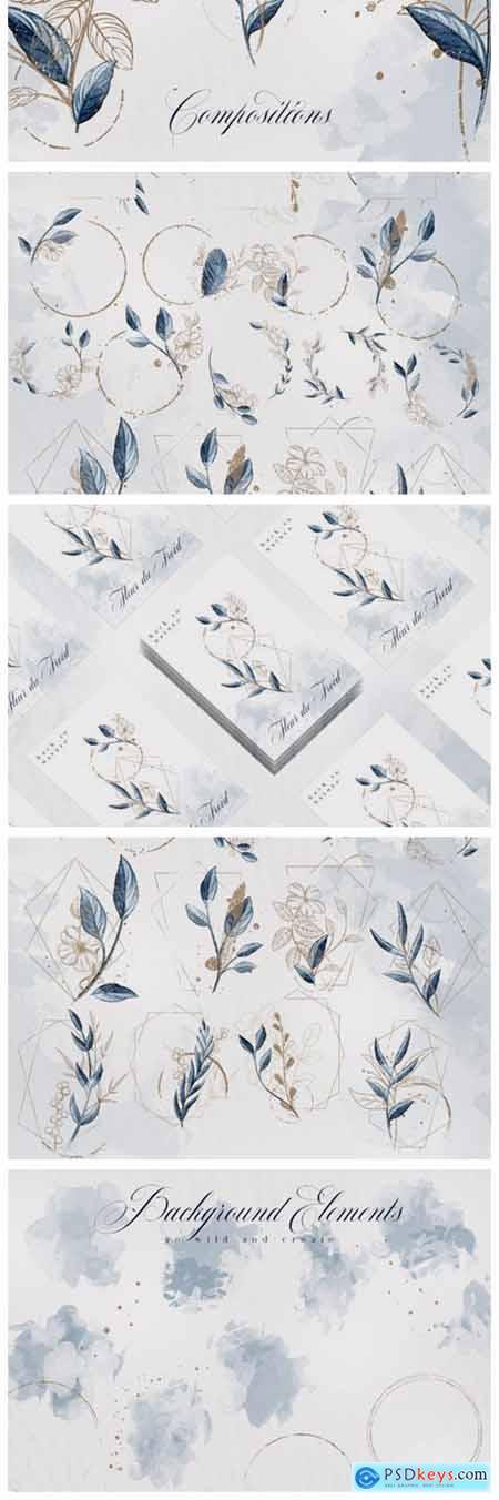 Fleur Du Froid Graphic Collection 7779325