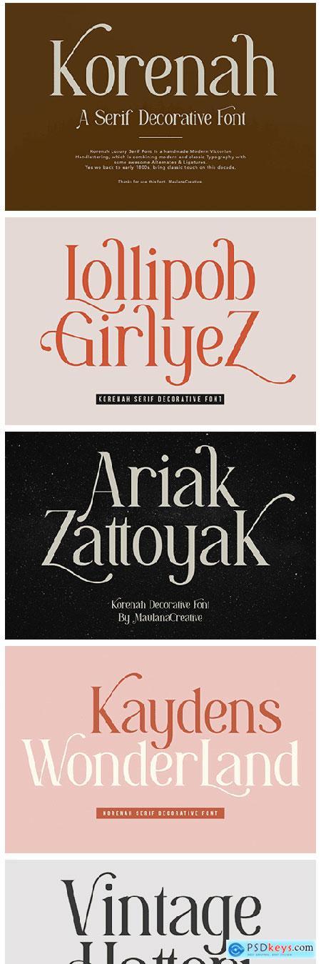 Solange - Display Serif Font 5296999
