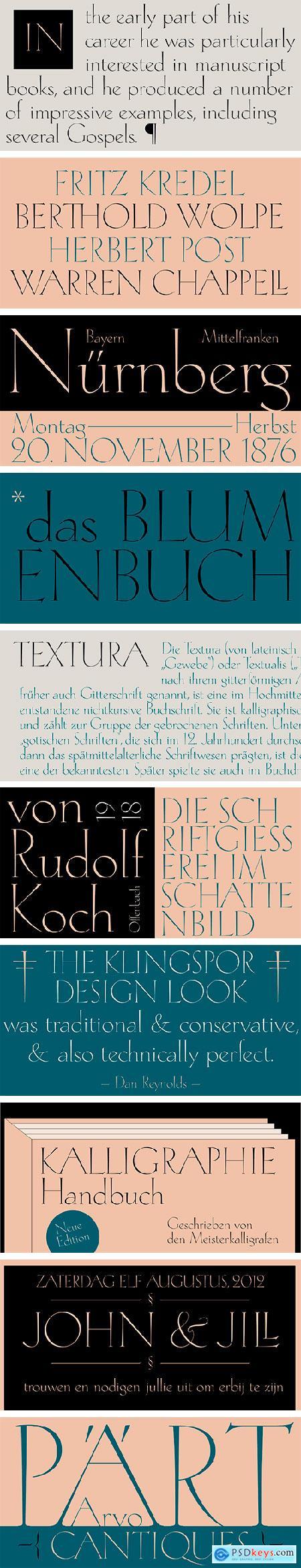 Rudolf Antiqua Font