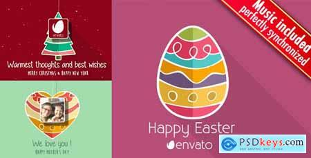 Christmas - Easter - Mothers Day Minimal 10748745