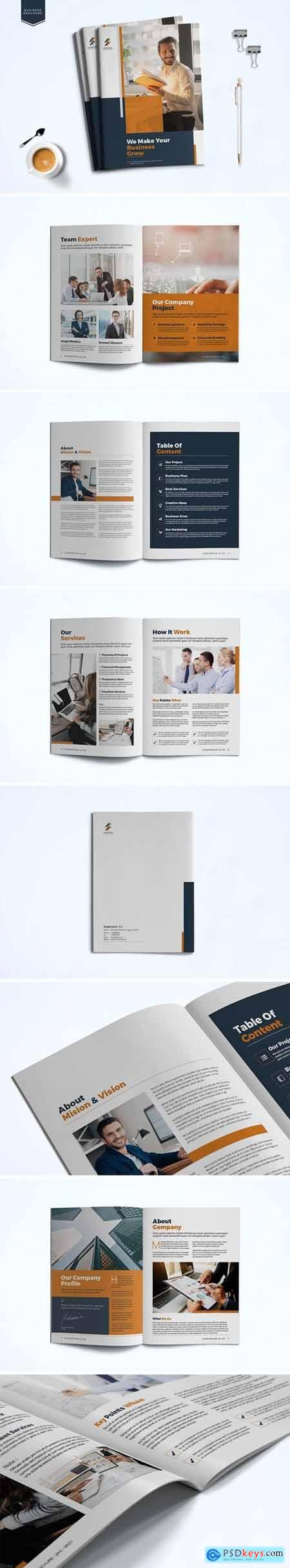 Business Brochure Template LGRG92K