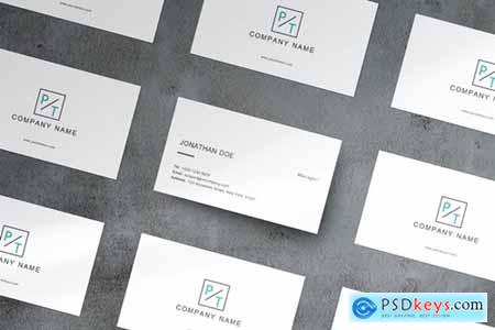 Business Card Mockup EPZ4BVB