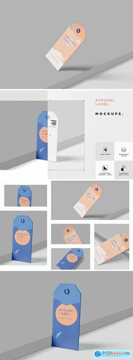 Clothing Tag Mockups
