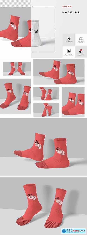 Socks Mock Ups