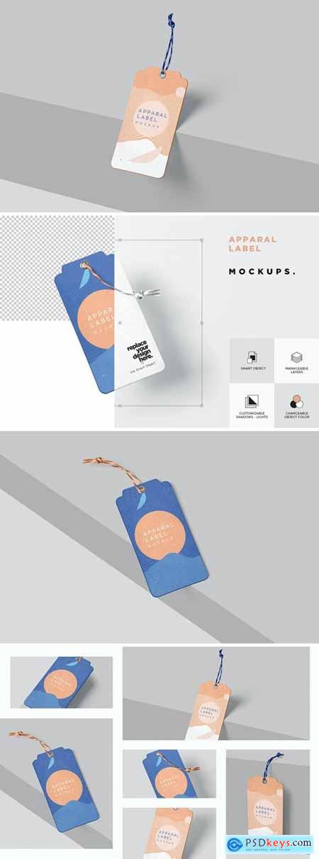 Label Tag Mockups - V2