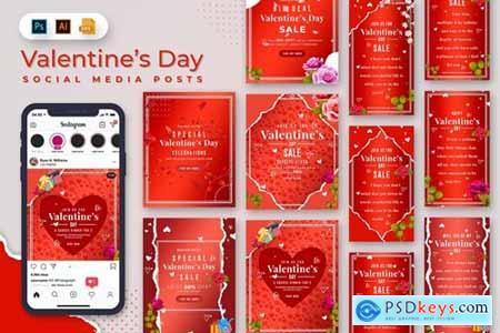 Valentine Day Social Media Posts