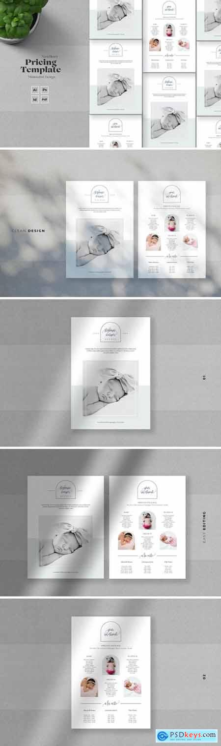 Newborn Photography Pricelist