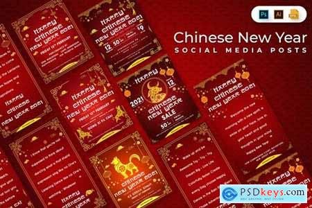 Chinese New Year Social Media Posts