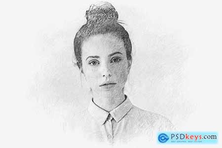 Pencil Drawing Photo Effect 5776916